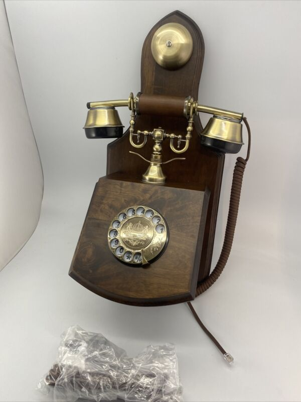 OPIS 1921 Cable - Model D - Wall-Mounted Vintage Phone/Retro Telephone with W...