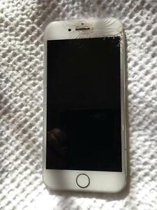 iPhone, white version 7