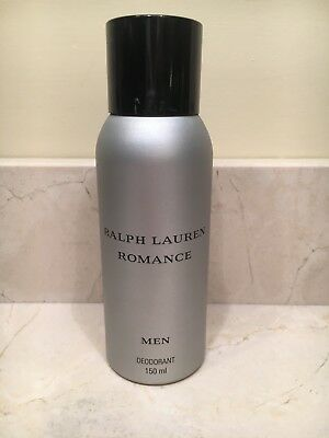 Romance for Men Ralph Lauren Deodorant Spray 150 ml New