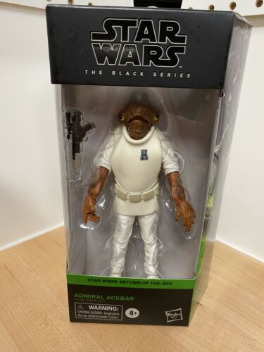 Actionfigur 2020 ROTJ Star Wars Black Series Admiral Ackbar