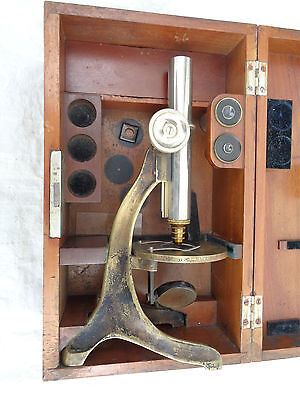Altes Mikroskop Carl Zeiss Jena  Nr. 28245 419 Dr. 1898