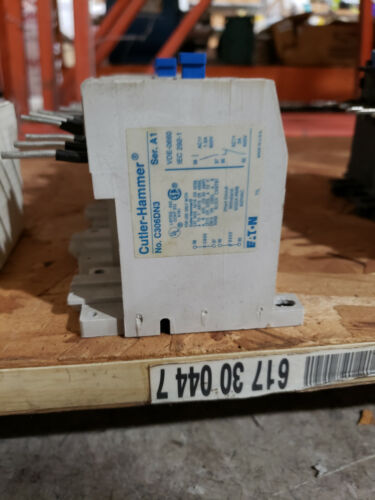 EATON CUTLER HAMMER C306DN3 THERMAL OVERLOAD RELAY 32AMP 3POLE 600VAC NO/NC