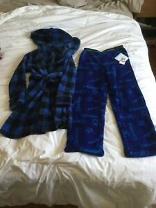 House coat and sleep pants