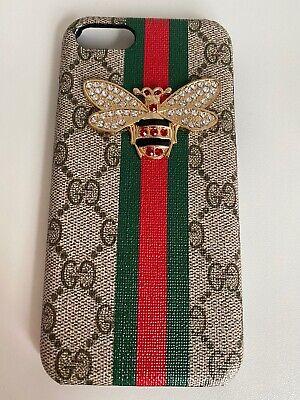 Gucci Case For Iphone 7 8 With Logo Bee