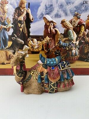 "Kirkland Signature Porcelain Nativity Hand painted Camel 4"" Tall From Set 18366"