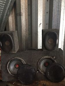 Subs and speakers