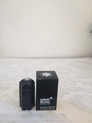 Mont Blanc Emblem EDT for Men 0.15oz (4.5 mL) Splash Size