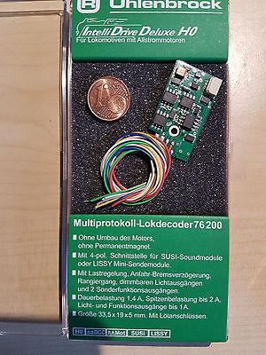 Uhlenbrock 76200 Lokdecoder MOT/DCC f. Allstrommotoren + Soundschnittstelle SUSI online kaufen