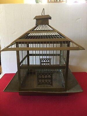 Vintage Hendrix Solid Brass Bird Cage