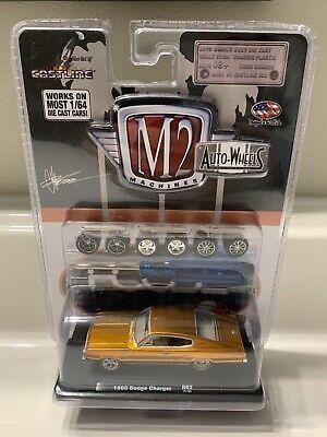 Castline M2 Machines Auto-Wheels 1:64 Scale 1969 Dodge Charger