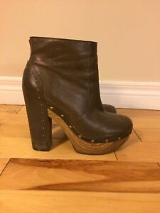Lucky Brand leather boots size 8