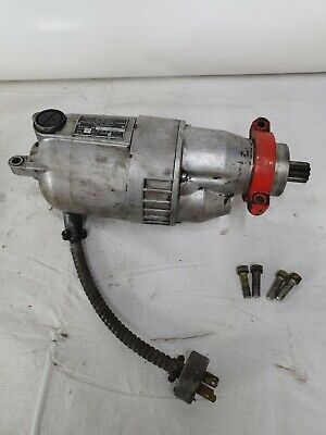 Ridgid 400a Pipe Threader Machine Motor 12 Hp 8 Amps 14000 Rpm Tested Working