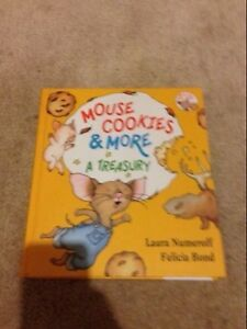 """Kids/Toddler Jumbo Book """"Mouse Cookies & More A Treasury"""""""
