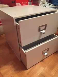 Two drawer cube by Ashland