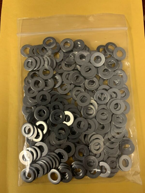 # 10 Flat washers Stainless Steel  250 count