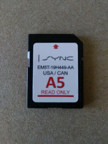 Ford Lincoln A5 Nav Card OEM Navigation Update