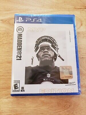PS4 - Madden NFL 21 (MVP Edition) - Brand New & Sealed. Fast Ship PlayStation 4
