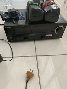 Kenwood home theatre system and subwoofer