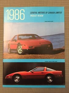 1990s Automobile Brochures-Mint