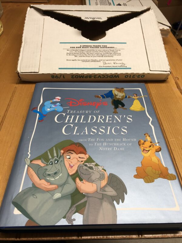 Vintage Disney's Treasury Of Children