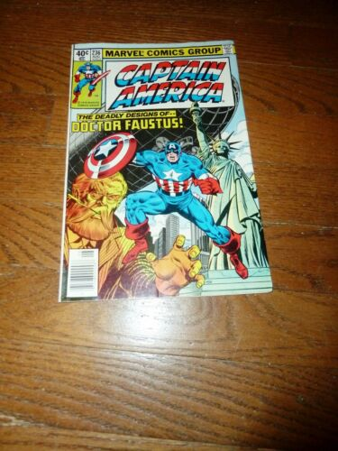 Marvels Captain America  236 August 1979 Statue of Liberty, VF