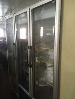 Anthony brand three door display fridge