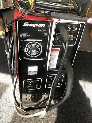 Snap-on Muscle Mig Welder Mm250sl W Spool Gun Ck Worldwide Tig Welding Torch