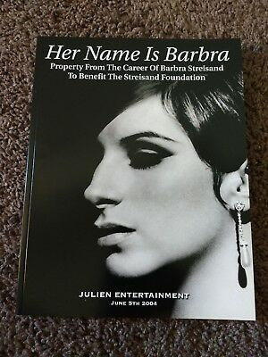 Her Name is Barbra Julien Entertainment auction June 5 2004