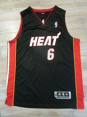LeBron James #23 Miami Heat NBA adidas Jersey 3XL 56