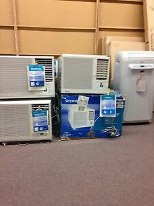 Clearance air conditioning units
