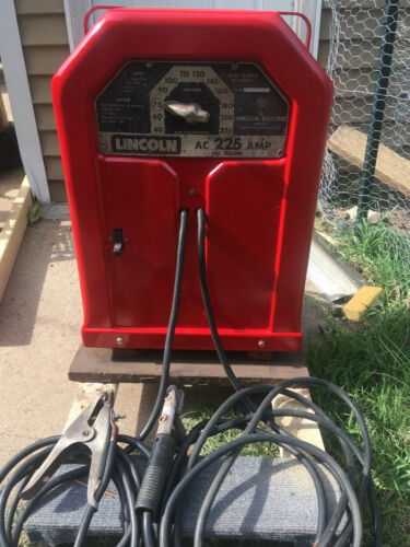Lincoln AC-225-S AC SMAW - 220v - 225amp Arc Welder