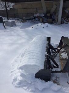 Heavy duty Pusher Plow