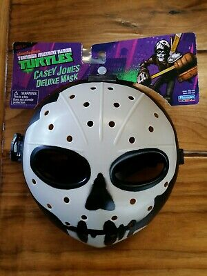 TMNT Teenage Mutant Ninja Turtles Nickelodeon Casey Jones Deluxe Mask Cosplay ()
