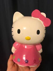 Hello kitty porcelain piggy bank