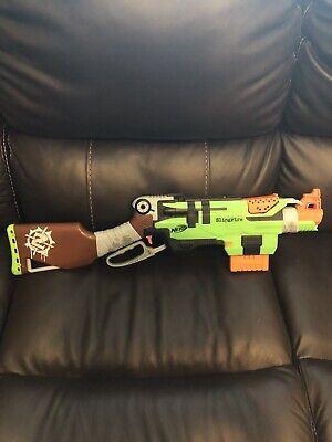 Hasbro Nerf Zombie Strike Slingfire Toy Gun Blaster Foam Dart Kids Boys