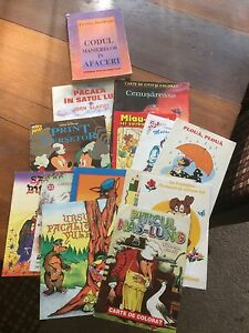 Lot of 14 books in Romanian