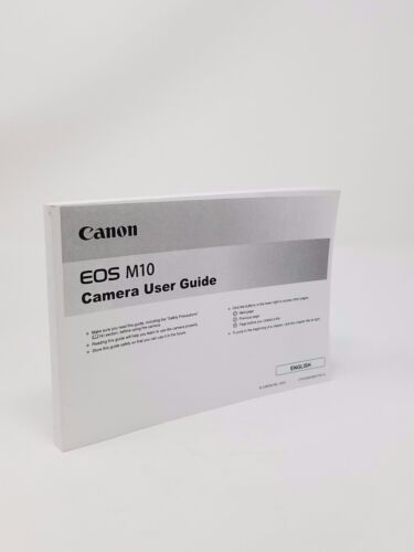 Canon EOS M10 Instruction Owners Manual Book NEW