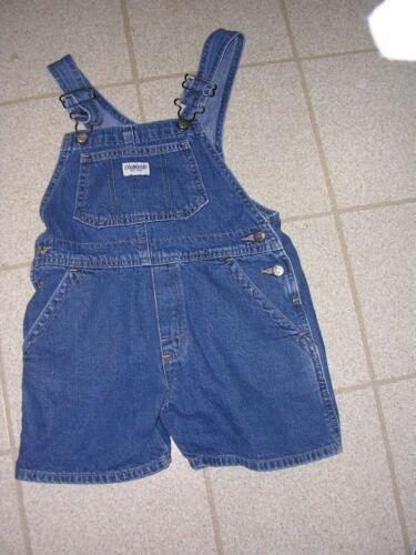 #299 Osh Kosh Bib Overalls Size 5 Blue Denim  Farmer Carpenter Shorts