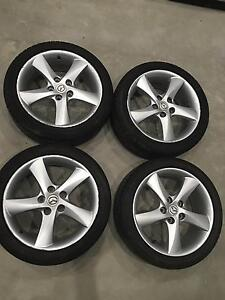 Mazda 6 ALLOY WHEELS LUXURY SPORT X 4. Great tyres 215/45/17 Greenacre Bankstown Area Preview
