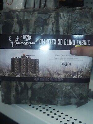 Mossy Oak 3D Camo Blind Fabric 12'x56