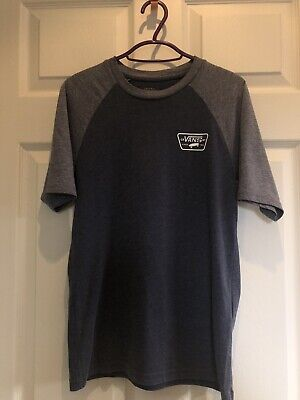 Boys Junior Vans Tshirt Size Medium Age 10-12