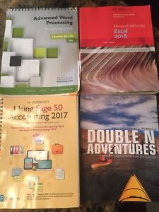 NSCC Office/Business Administration textbooks