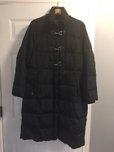 Womens down filled winter coat