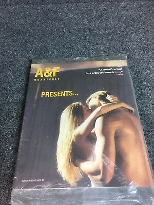 * A&F Quarterly * Abercrombie & Fitch 2003 Summer Catalog NEW SEALED
