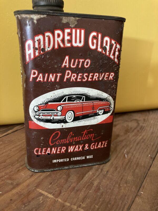 Vintage Auto Polish Can