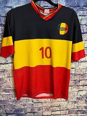 🔥Belgium Soccer Jersey #10 Medium 🔥 World Cup Soccer ⚽️ 🥅 Hot Item Best (Best World Cup Jerseys)