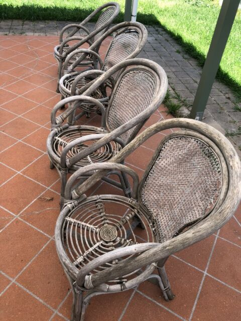 Can these cane chairs be fixed   Other Furniture   Gumtree ...