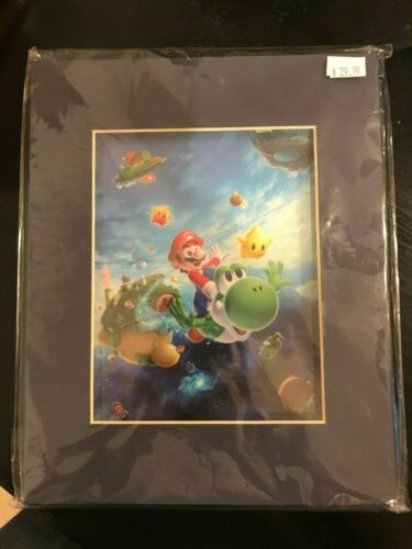 Super Mario Galaxy 2 Limited Edition Laser Cel Nintendo COA