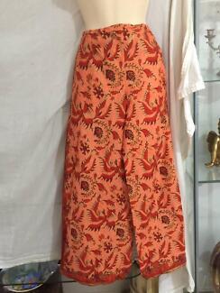 Gypsy Boho Tie Pants Medium ( Up To Small 14 )  VGC