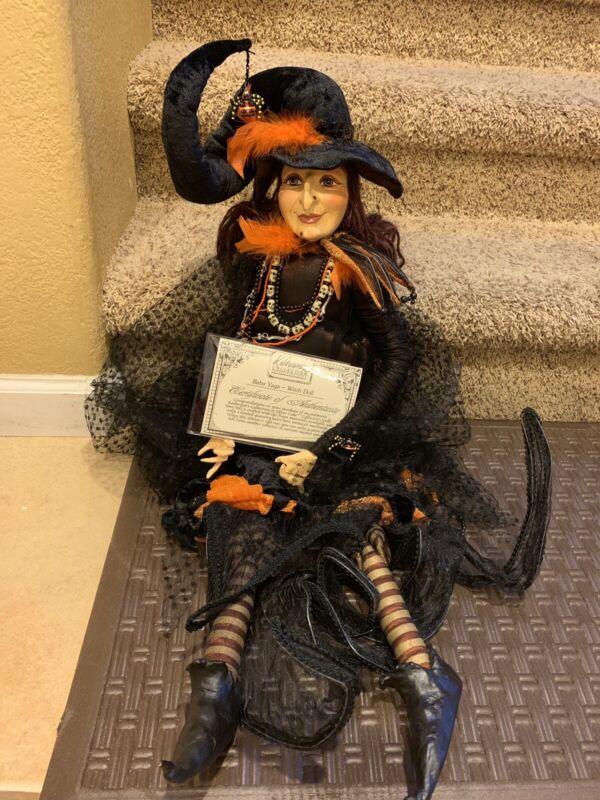 Katherine's Collection Baba Yaga Witch Doll Halloween